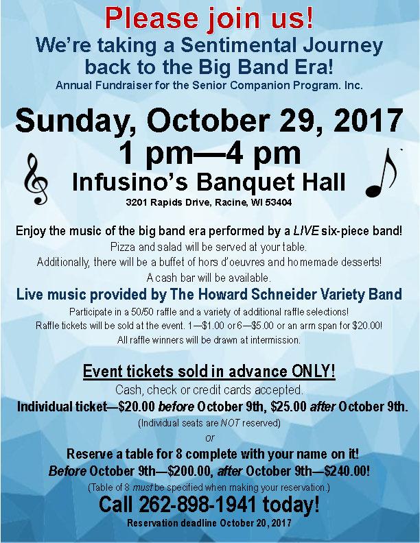Event: Sentimental Journey back to the Big Band Era!