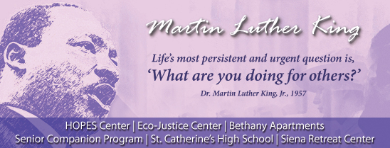Martin Luther King quote: What are you doing for others?